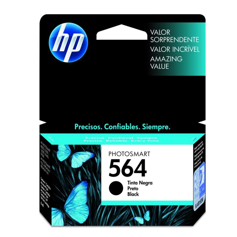 CARTUCHO HP CB316AL Nº 564 PRETO 7,5ML