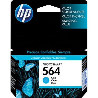 CARTUCHO HP CB318AL No 564 CYAN 3,5ML