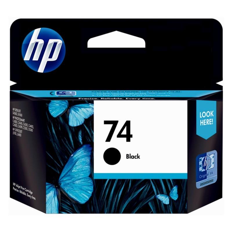 CARTUCHO HP CB335WL Nº 74 PRETO 5,5ML