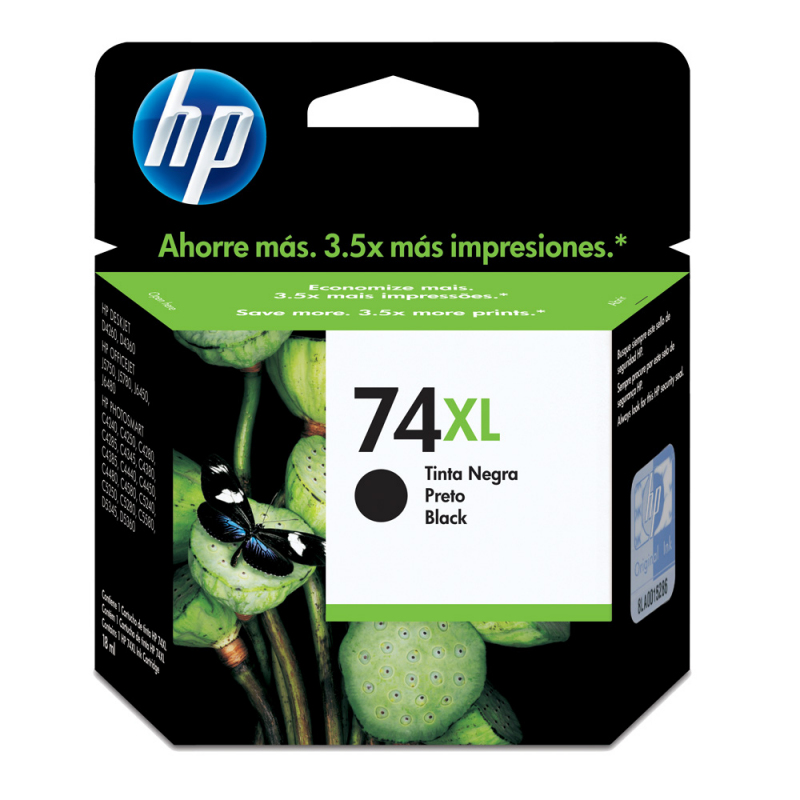 CARTUCHO HP CB336WB No 74XL PRETO 20ML