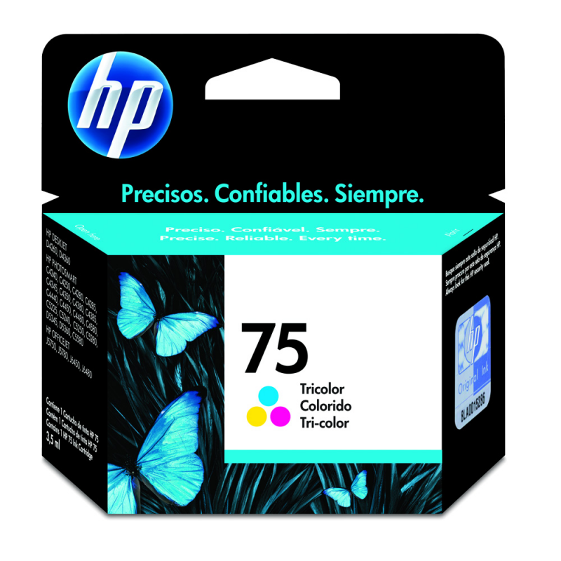 CARTUCHO HP CB337WB Nº 75 COLOR 5,5ML