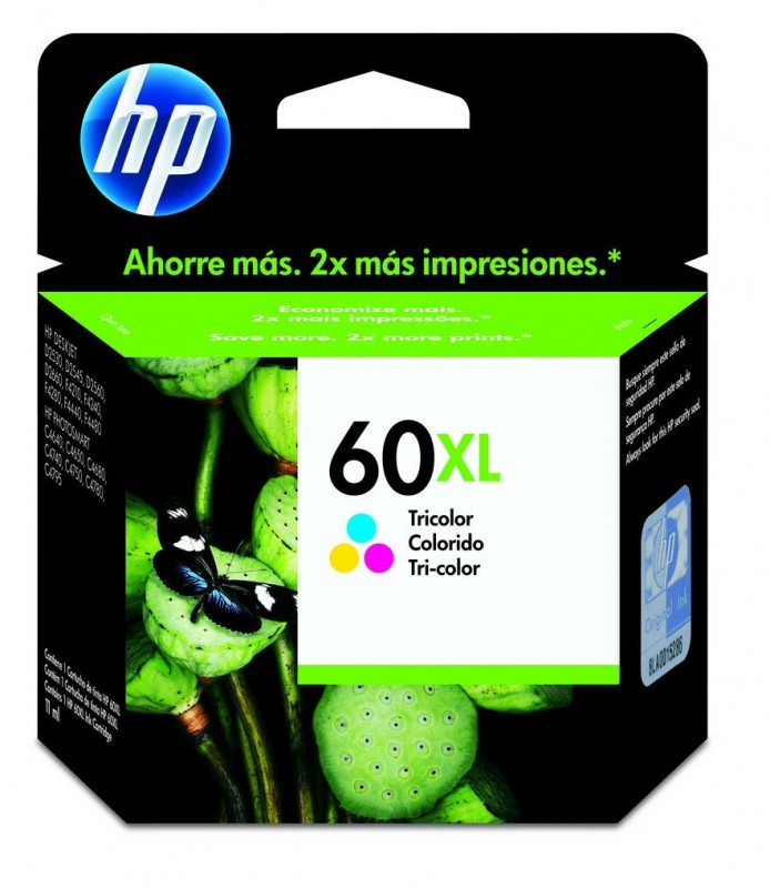 CARTUCHO HP CC644WB No 60XL COLOR 15,5ML