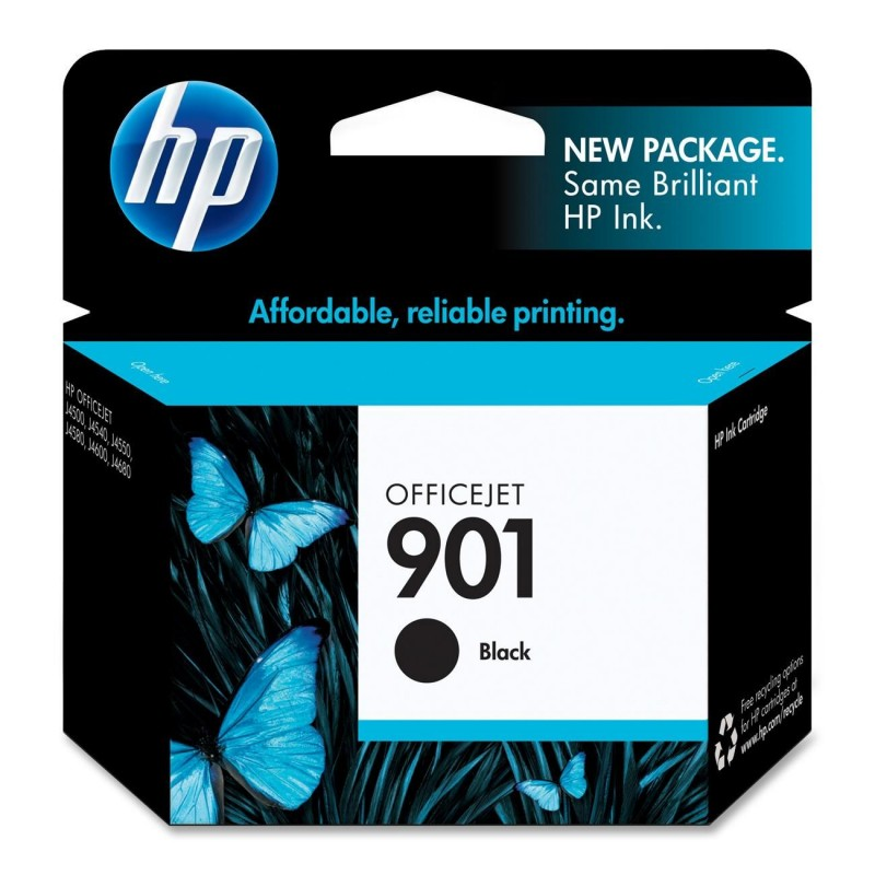 CARTUCHO HP CC653AL No 901 PRETO 4ML