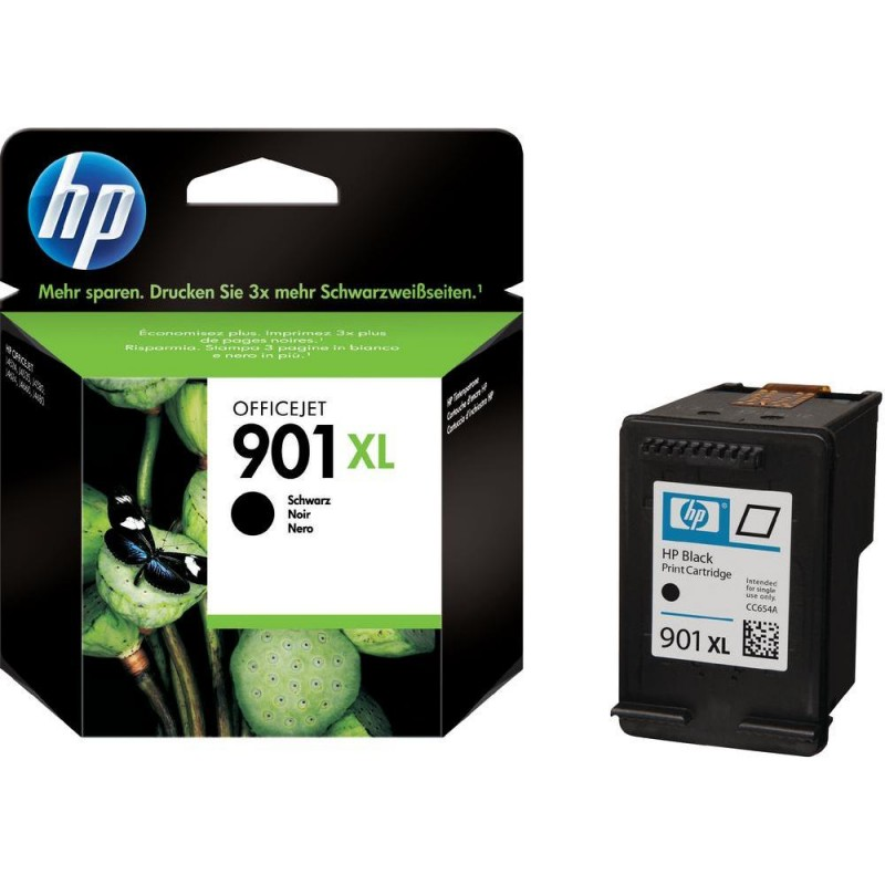 CARTUCHO HP CC654AL No 901XL PRETO 15,5ML