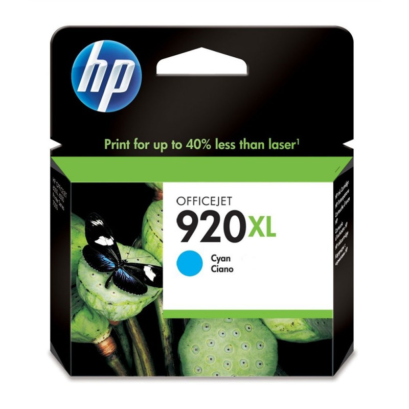 CARTUCHO HP CD972AL No 920XL CYAN 6ML
