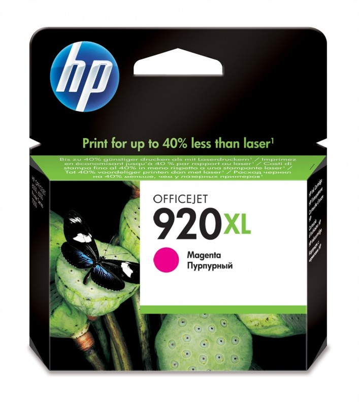 CARTUCHO HP CD973AL No 920XL MAGENTA 6ML