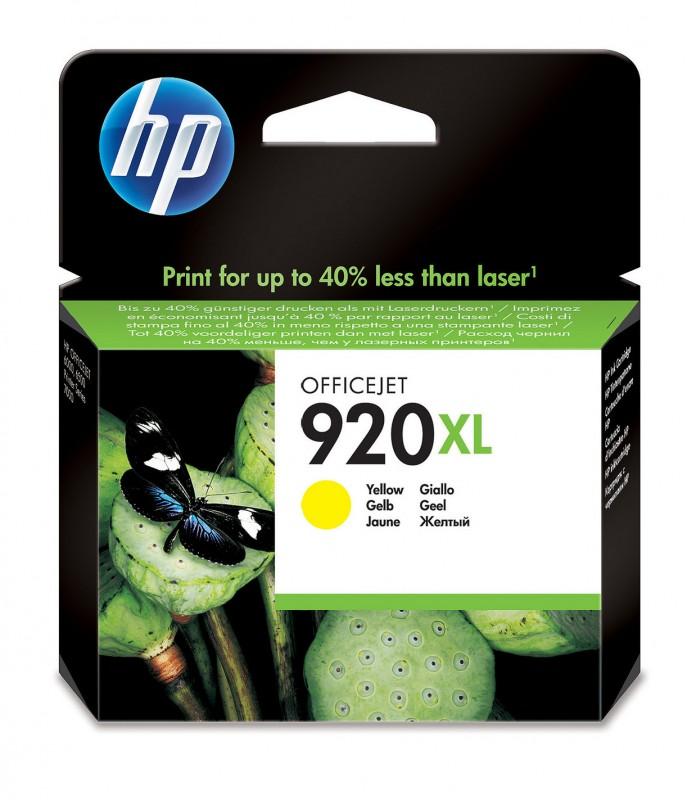 CARTUCHO HP CD974AL Nº 920XL YELLOW 6ML