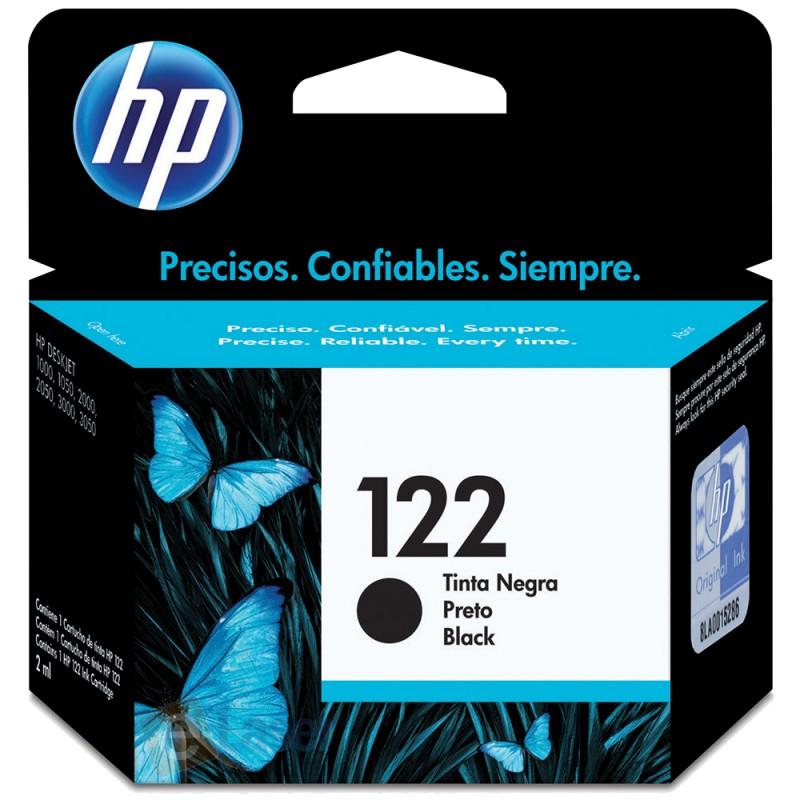 CARTUCHO HP CH561HB Nº 122 PRETO 2ML