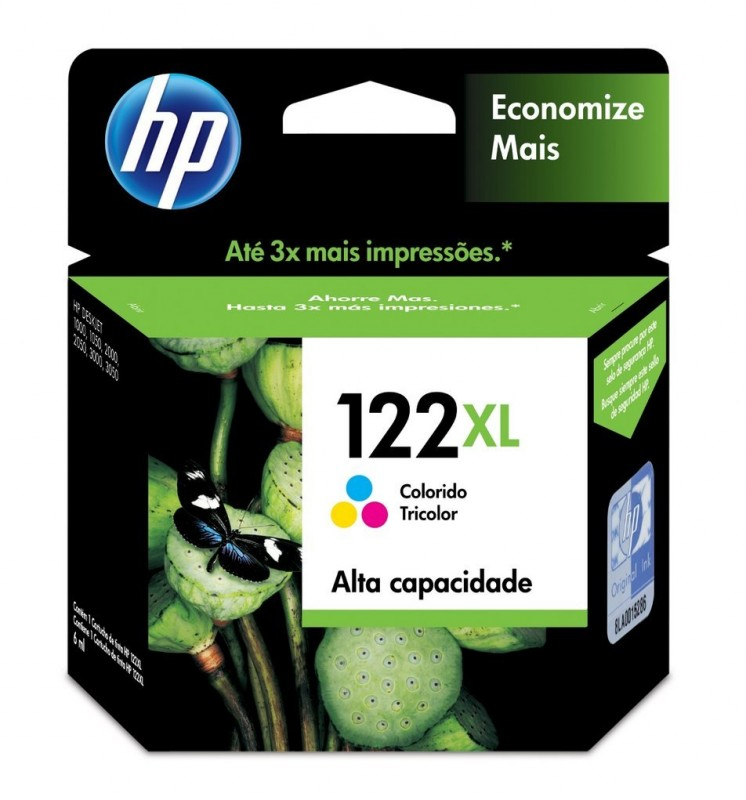 CARTUCHO HP CH564HB No 122XL CL 7,5ML