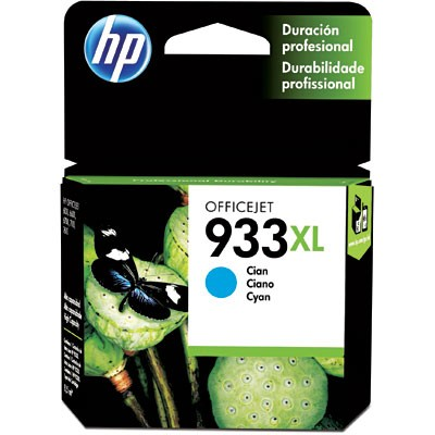 CARTUCHO HP CN054AL Nº 933XL CYAN 9ML