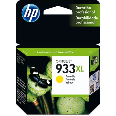 CARTUCHO HP CN056AL Nº 933XL YELLOW 9ML
