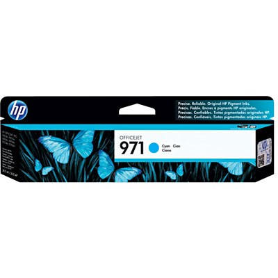 CARTUCHO HP CN622AM Nº 971 CYAN 34,5ML