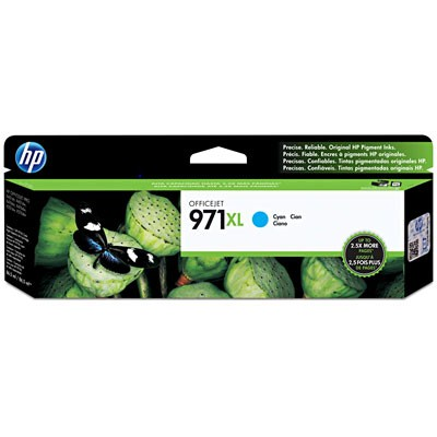CARTUCHO HP CN626AM Nº 971XL CYAN 86,5ML