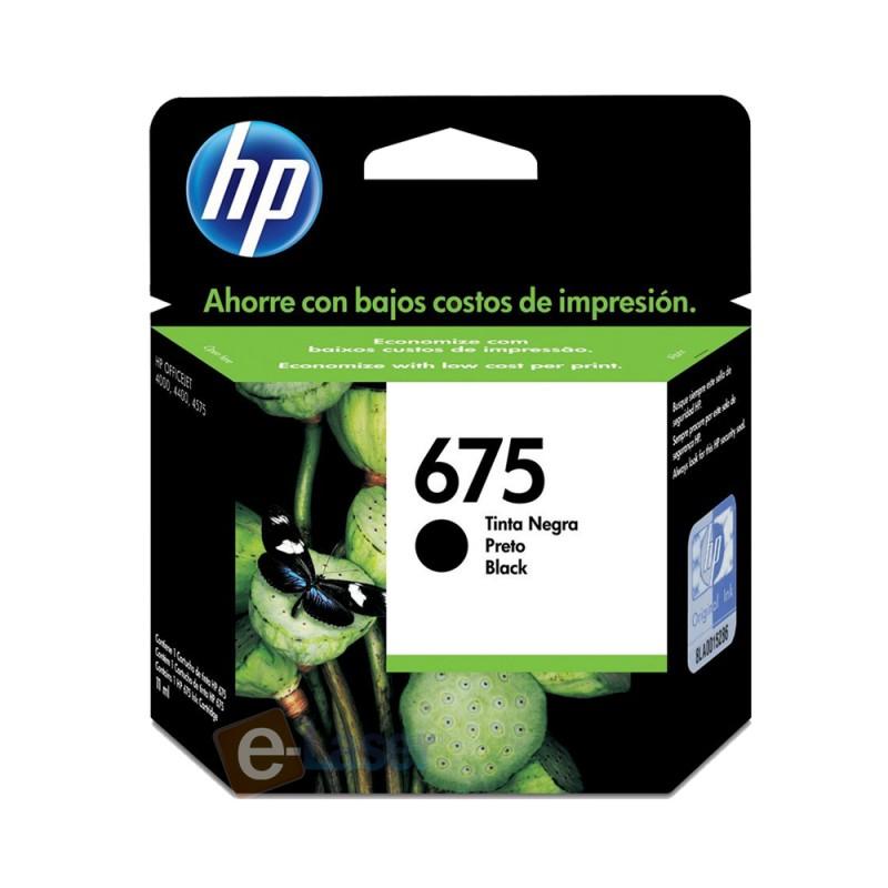 CARTUCHO HP CN690AL Nº 675 PRETO 13,5ML