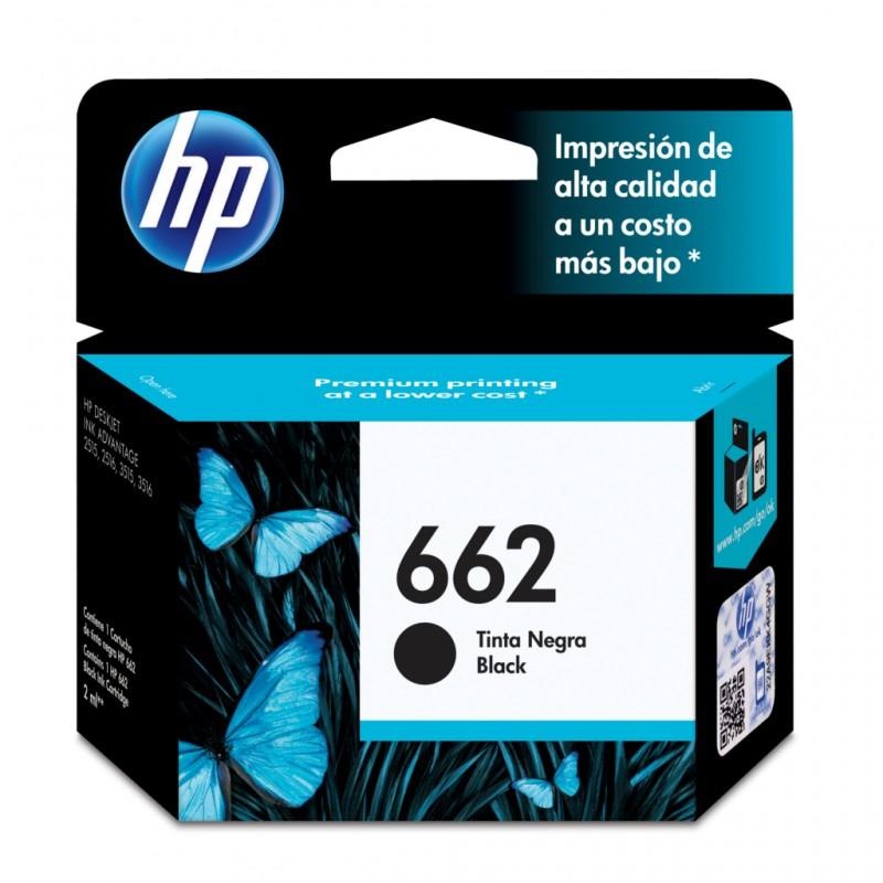 CARTUCHO HP CZ103AB Nº 662 PRETO 2ML