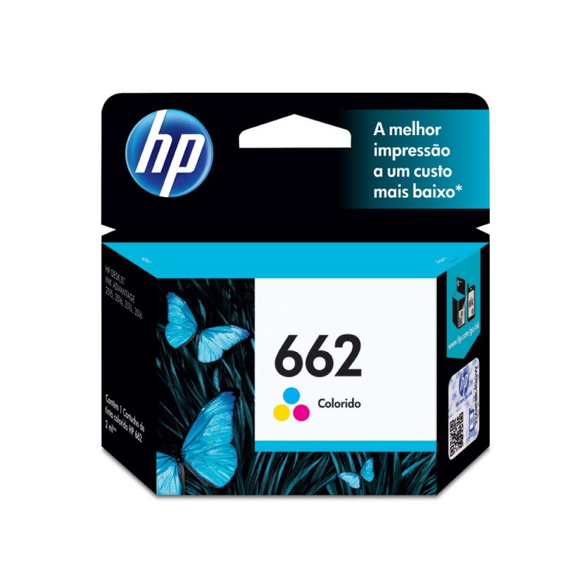 CARTUCHO HP CZ104AB Nº 662 COLOR 2ML
