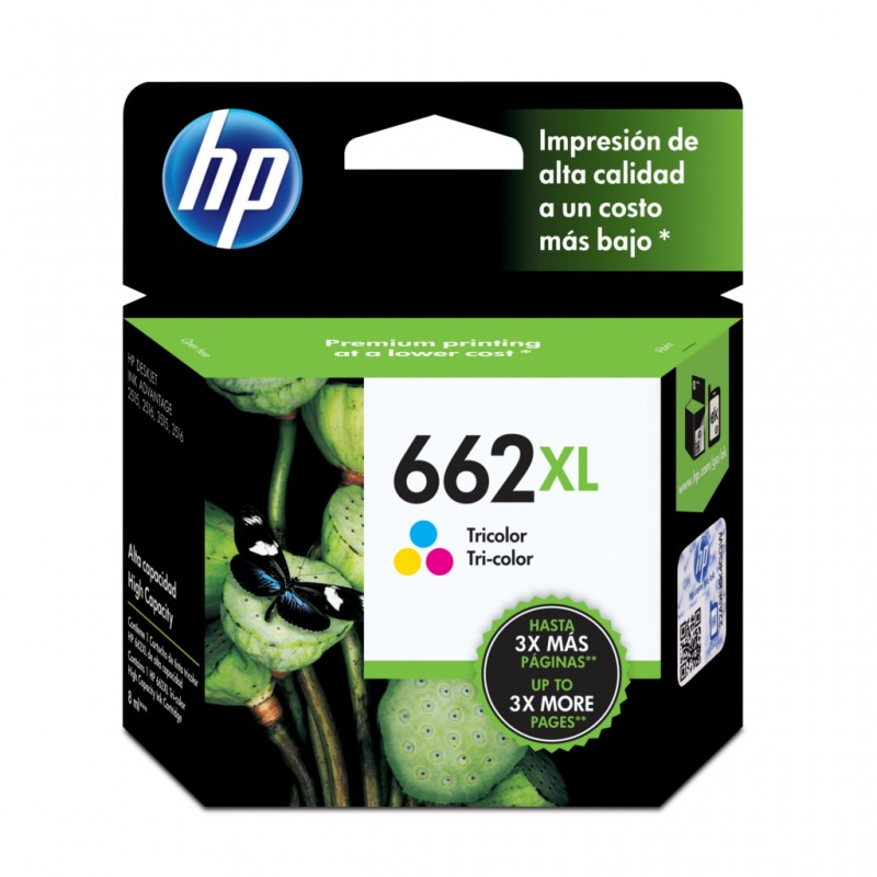 CARTUCHO HP CZ106AB Nº 662XL COLOR 8ML