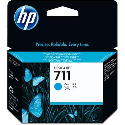 CARTUCHO HP CZ130A Nº 711 CYAN 29ML