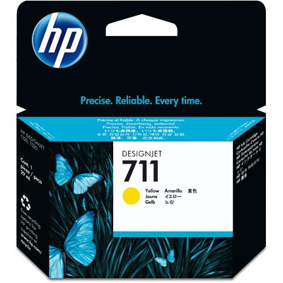 CARTUCHO HP CZ132A Nº 711 YELLOW