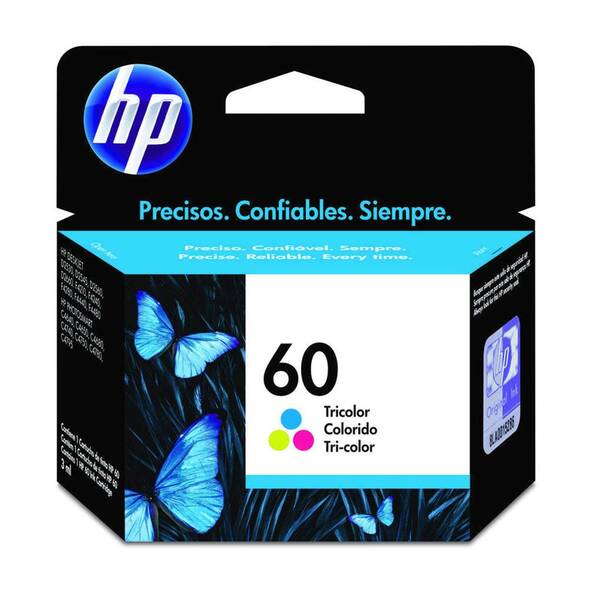 CARTUCHO HP CC643WB No 60 COLOR 6,5ML