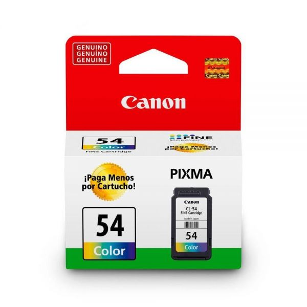CARTUCHO CANON CL-54 COLOR 6,2ML
