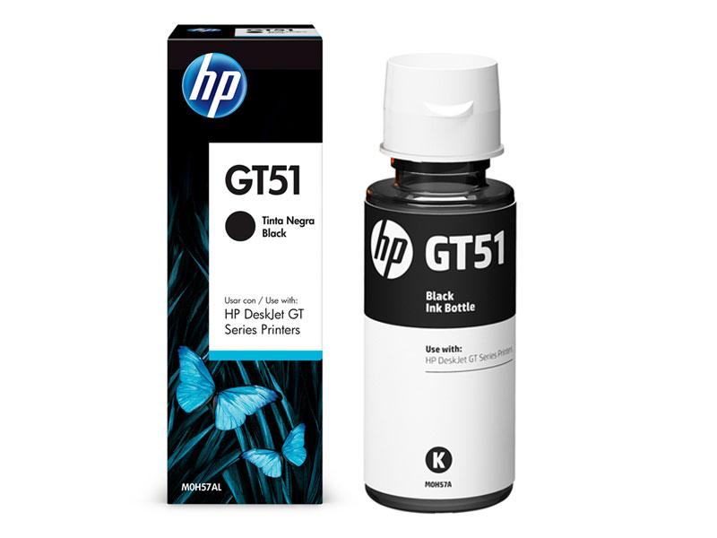 GARRAFA DE TINTA HP M0H57AL GT52 PRETO