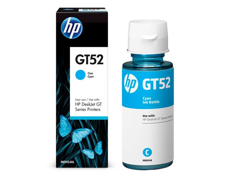 GARRAFA DE TINTA HP M0H54AL GT52 CYAN