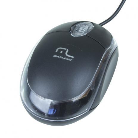 MOUSE OPTICO USB CLASSIC MULTILASER PRETO MO179