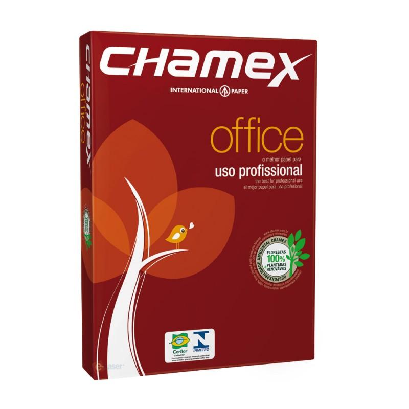 PAPEL A4 210X297MM 75GRS C/500 FLS CHAMEX