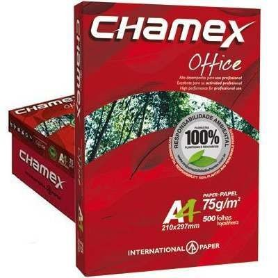 PAPEL A4 210X297MM 75GRS C/5000 FLS CHAMEX