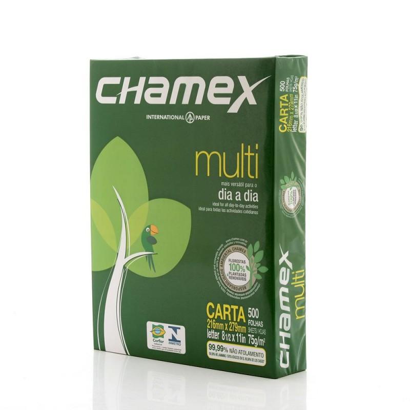 PAPEL CARTA 216X279MM 75GRS C/500 FLS CHAMEX