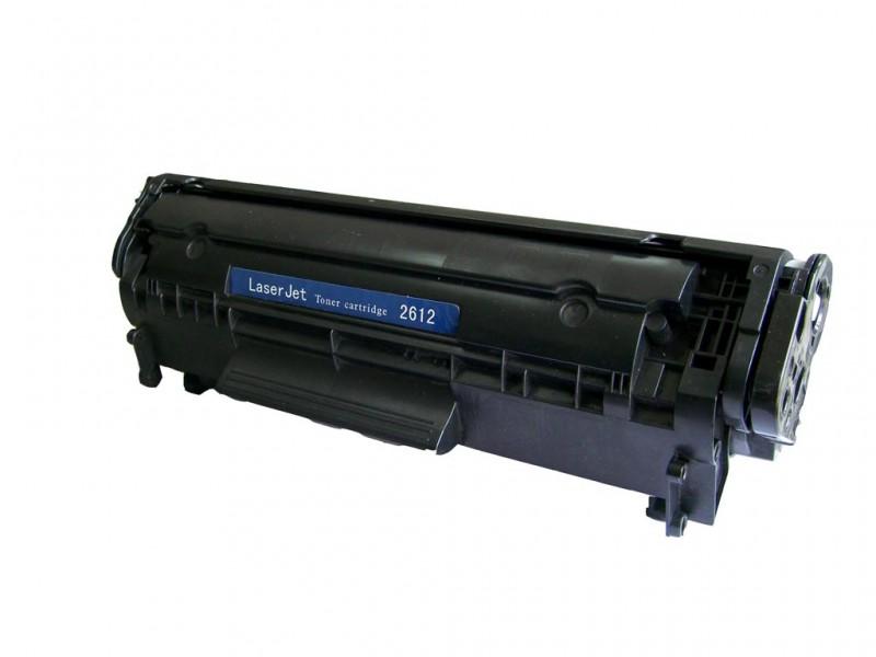 RECARGA TONER HP Q2612A BK