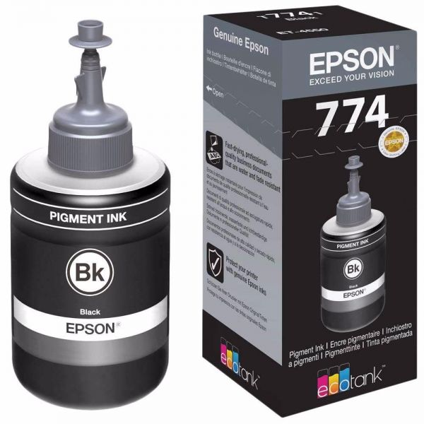REFIL EPSON T774120 Preto 140ML