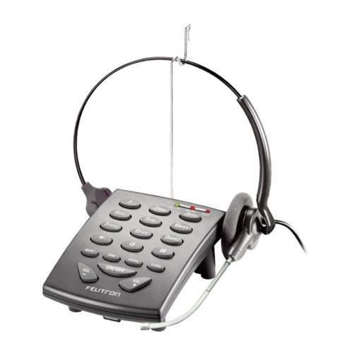 TELEFONE HEADSET STILE FELITRON S8010 BK