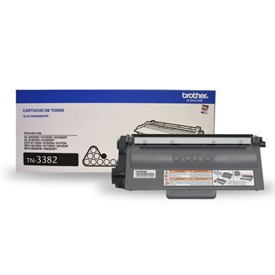 TONER BROTHER TN-3382 PRETO