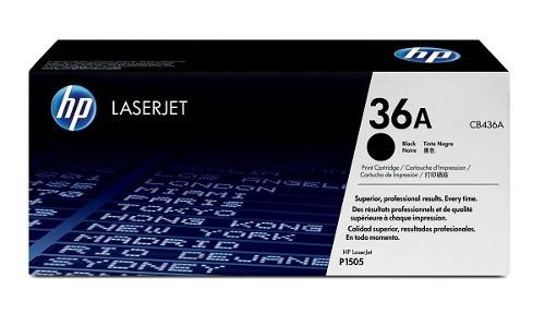 TONER HP CB436A Nº 36A BK