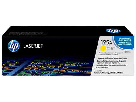 TONER HP CB542A Nº 125A YELLOW