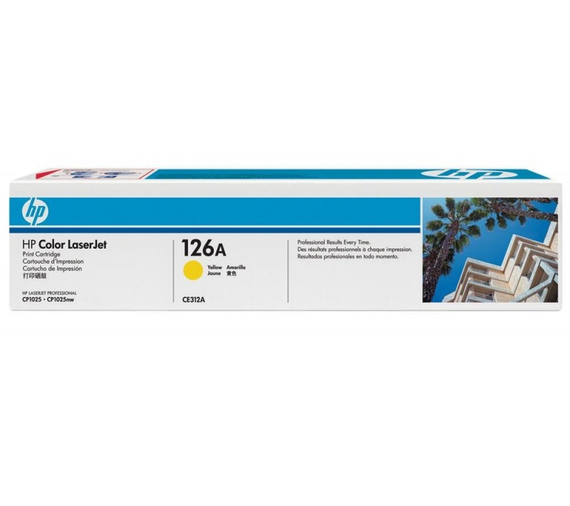 TONER HP CE312A Nº 126A YELLOW