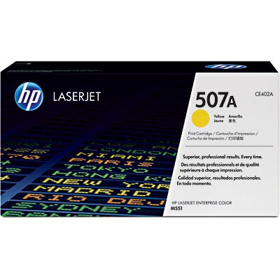 TONER HP CE402A Nº 507A YELLOW