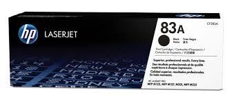 TONER HP CF283A Nº 83A BK