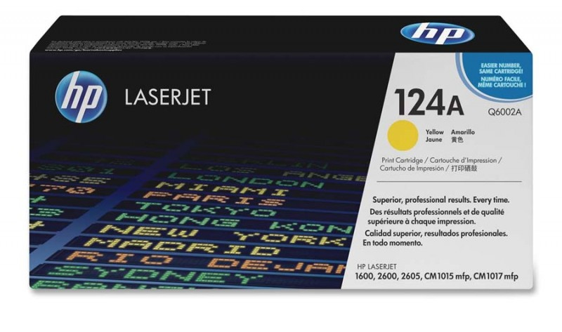 TONER HP Q6002A Nº 124A YELLOW